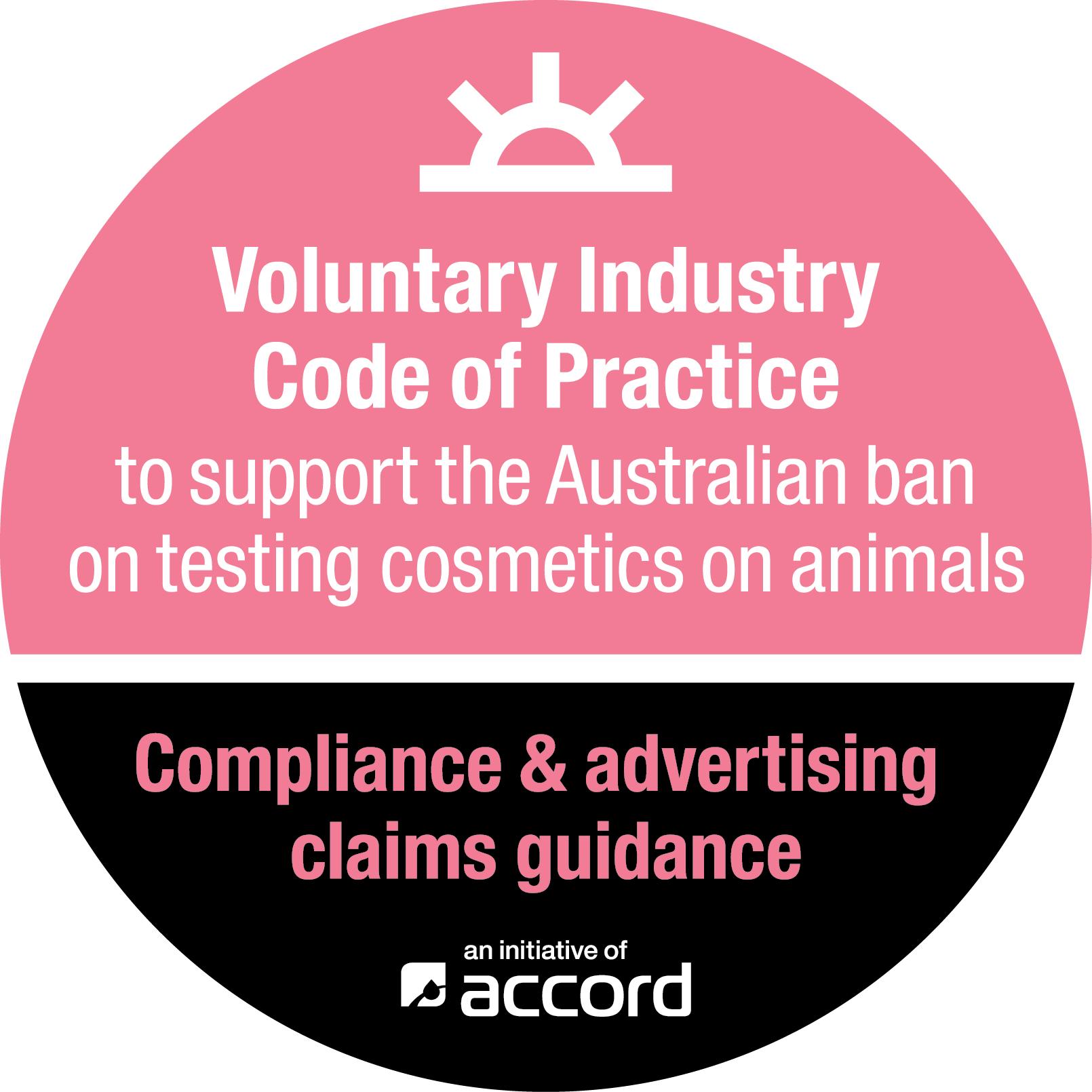 Voluntary Industry Code on Animal Test Ban